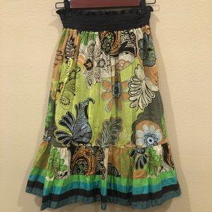 O'Neill Pattern Midi Skirt